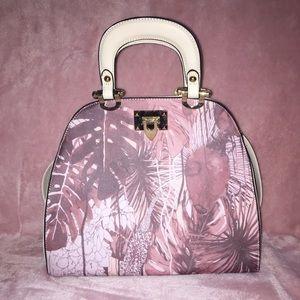 Handbags - Nude Floral Bag/Purse, GREAT CONDITION